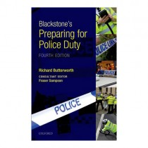 Blackstone's Preparing for Police Duty