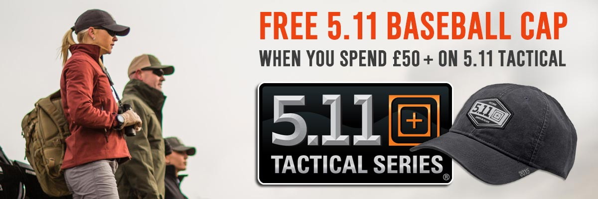 Free 5.11 Cap Special Offer