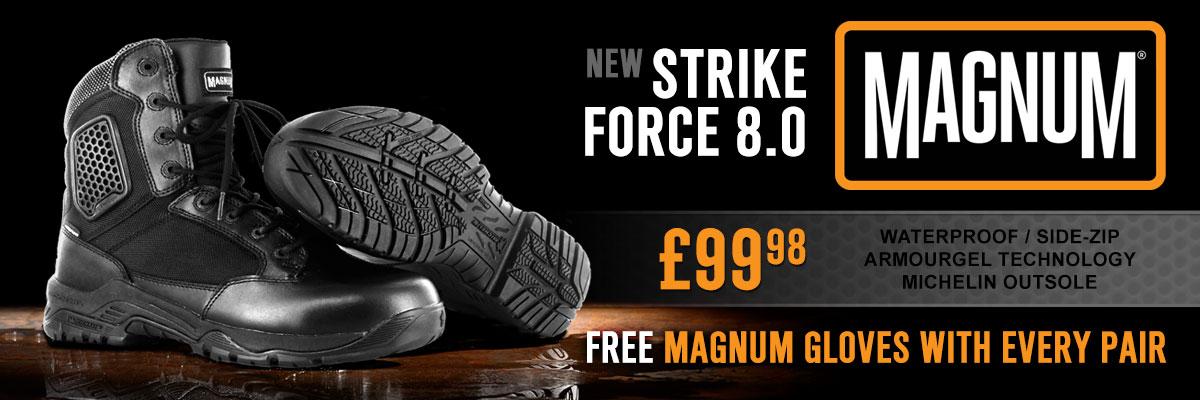 Magnum Strike Force Free Gloves