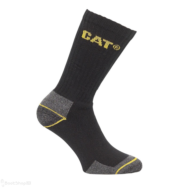 CAT Crew Work Sock - 3 Pack