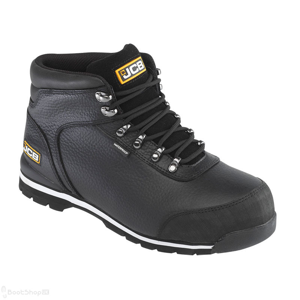 JCB 3CX Hiker Safety Boot - Black