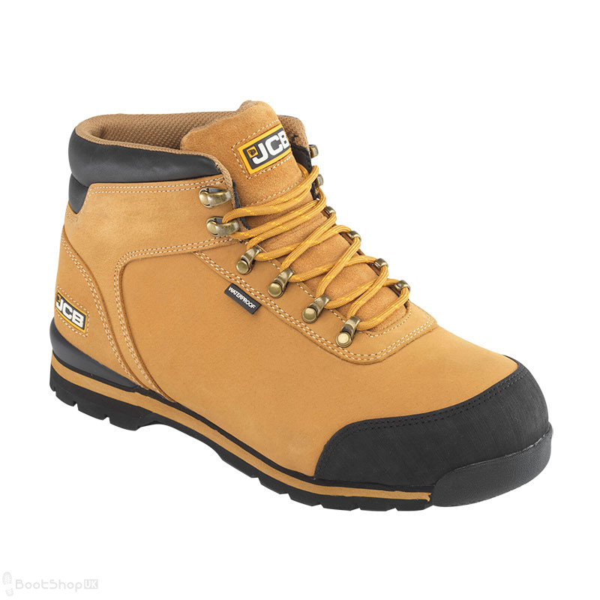 JCB 3CX Hiker Safety Boot - Honey