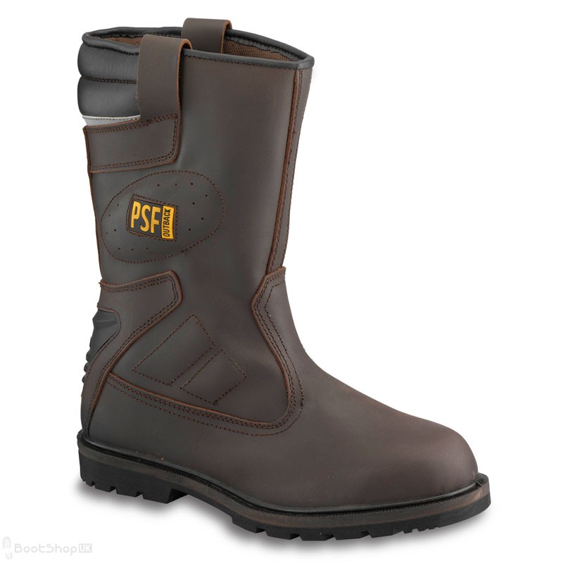 Outback 847SM Safety Rigger Boot