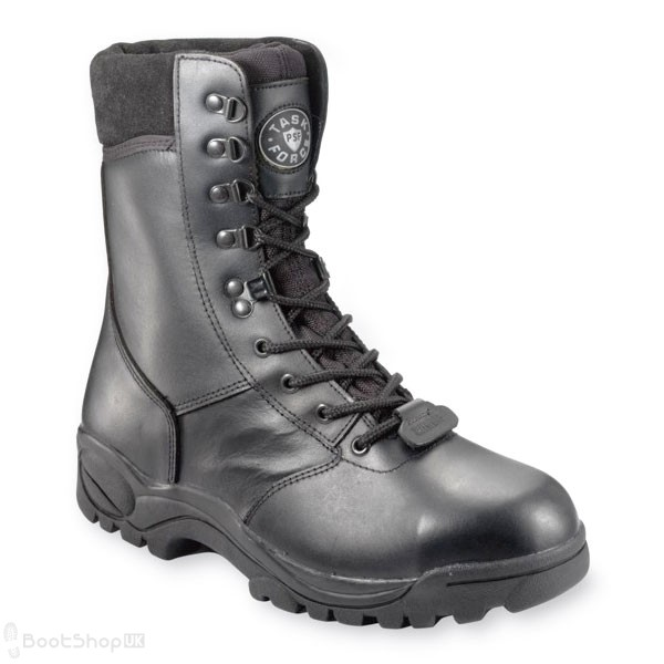 "Taskforce 8"" Leather Boot - Size 5"