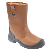Contractor 118SCM Tan Rigger Safety Boot
