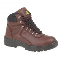 Amblers FS31 Brown Waterproof Safety Boot