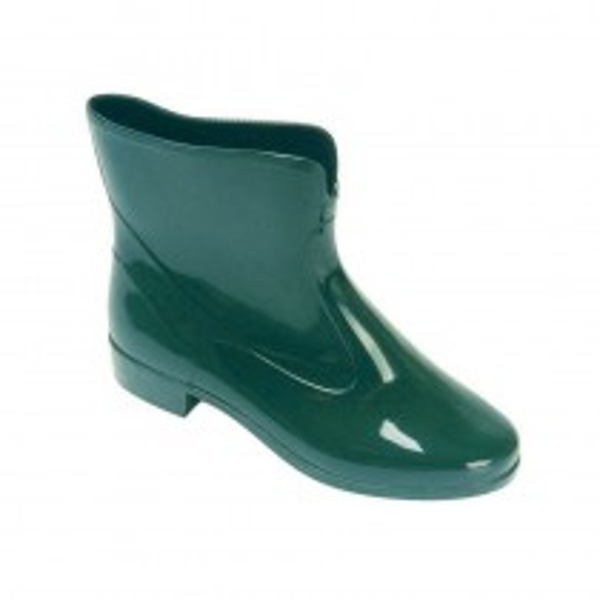 Ladies Short Wellington Boot - Green
