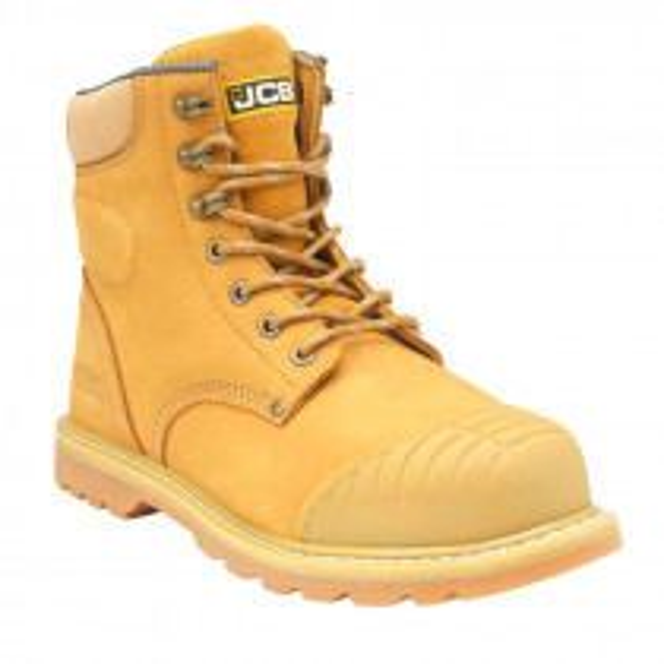 JCB 5CX+ Safety Boot - Honey