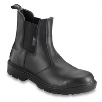 Contractor Safety Dealer Boot - Black