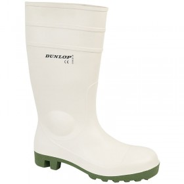 Dunlop Safety Wellington - White