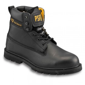 Outback 844SM Safety Boot - Black