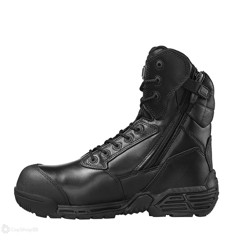 d31d3087b41 Magnum Stealth Force 8.0 CT Side-Zip Bump Toe Safety Boot :
