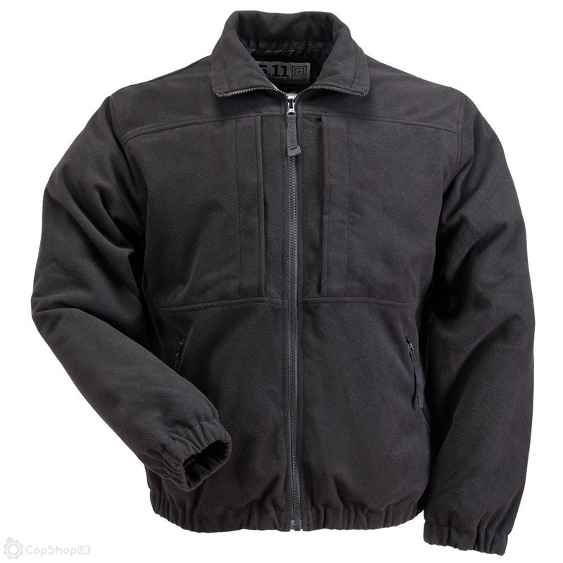 5.11 Tactical Fleece Jacket - Black - Size XS