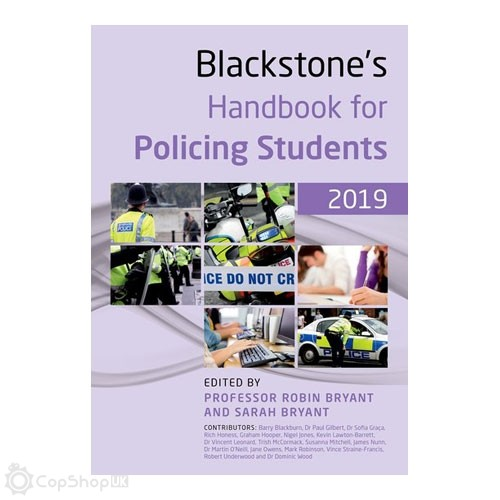 Blackstone's Handbook for Policing Students 2019
