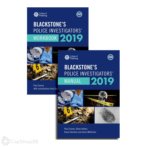 Blackstone's Police Investigators' Manual and Workbook 2019