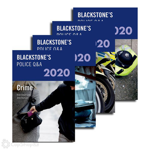 Blackstone's Police Q&A: Four Volume Pack 2020