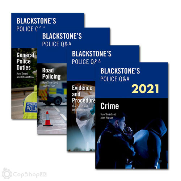 Blackstone's Police Q&A: Four Volume Pack 2021