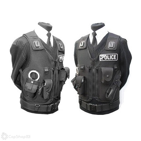 Police Issue Tac-Vest - Black