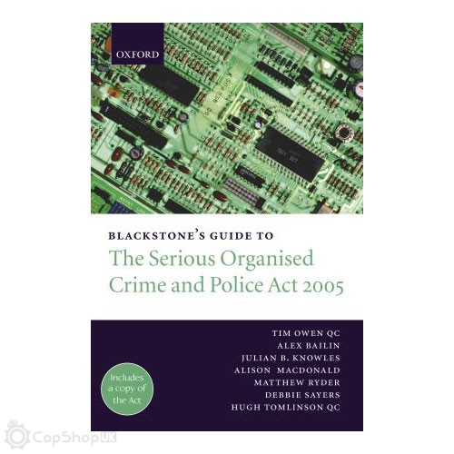 Blackstone's Guide to the SOCPA 2005