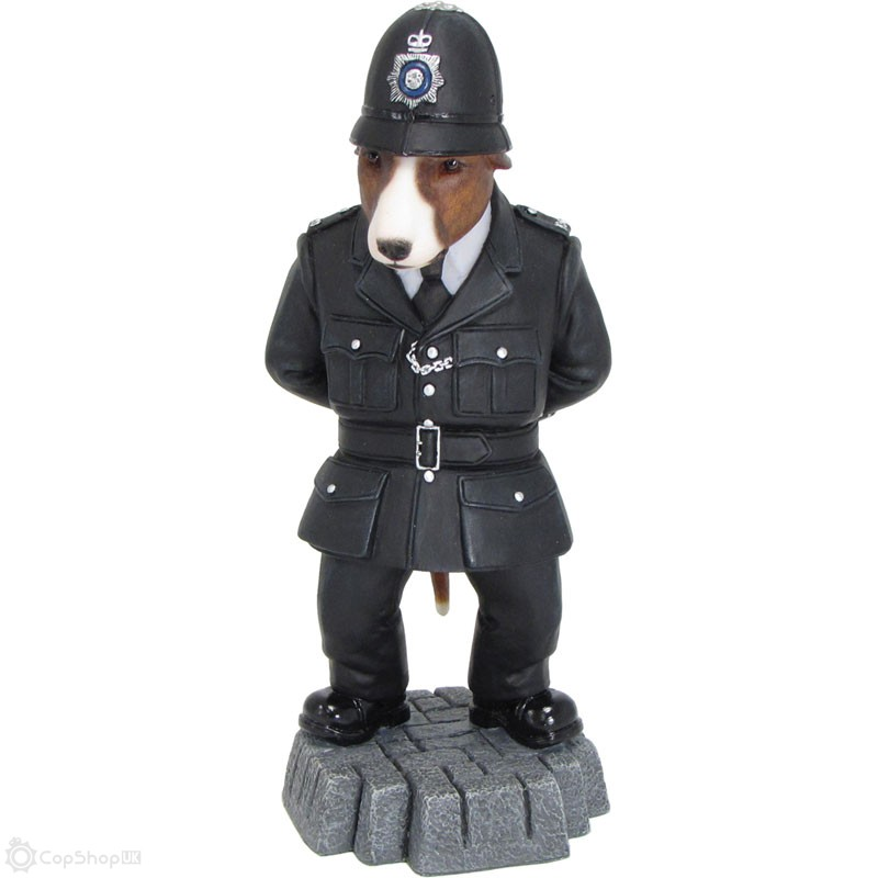 Bull Terrier 'On The Beat' Figurine
