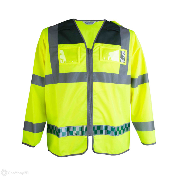 EMS Ambulance Hi-Vis Sleeved Waistcoat