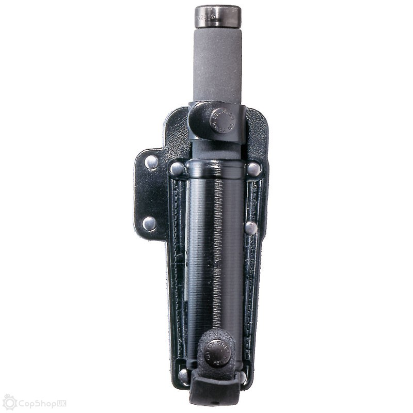 "Leather 21"" Auto-Lock Baton Holder - Duty Belt"