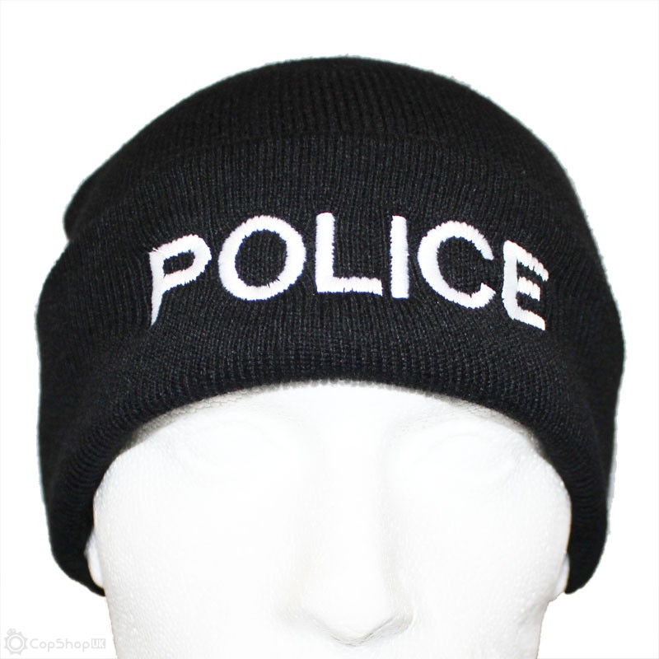 Police Beanie Hat   CopShopUK 33c492885f6