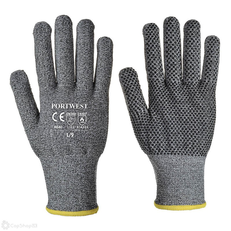 Portwest Sabre-Dot Cut-Resistant Liner Gloves