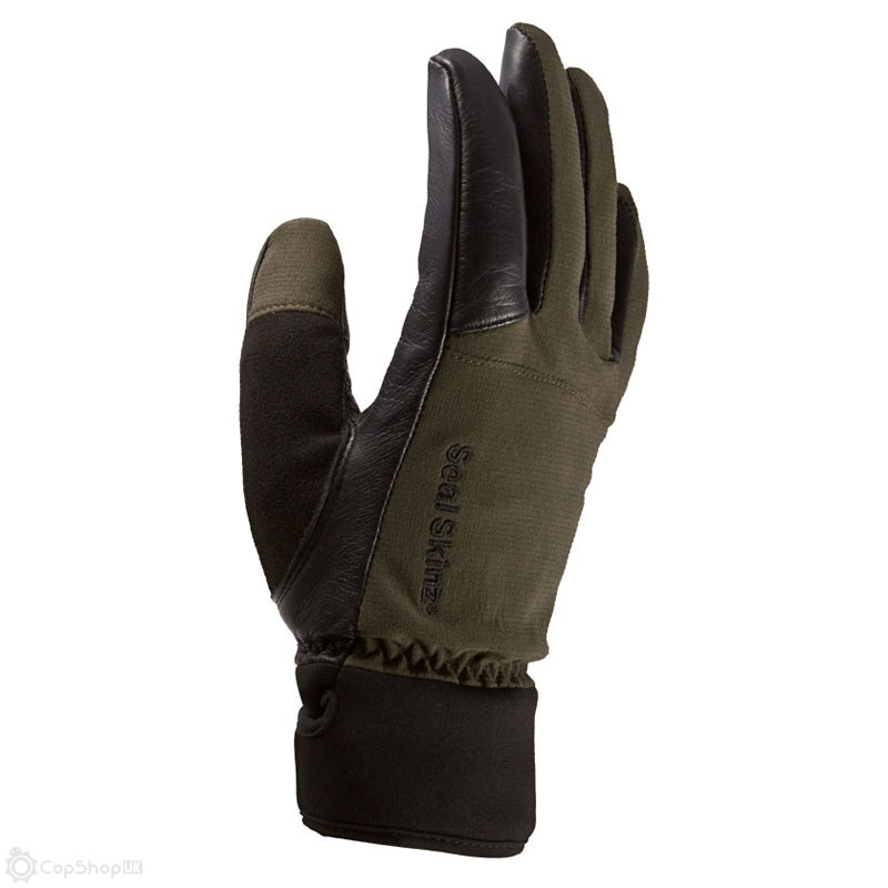 SealSkinz Hunting Gloves - Olive