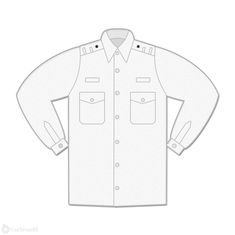 Uniform Shirt - Mens / Long Sleeve / Shoulder Loops