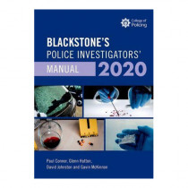Blackstone's Police Investigators' Manual and Workbook 2020