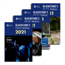 Blackstone's Police Manuals 2021: Four Volume Pack
