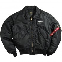 Alpha Industries CWU 45/P Flight Jacket - Black