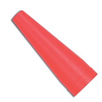 Red Traffic Safety Cone - D-Cell Torches