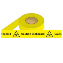 Barrier Tape - CAUTION BIOHAZARD