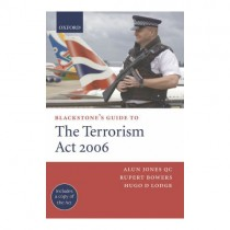 Blackstone's Guide to Terrorism Act 2006