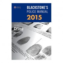 Blackstone's Police Manual 2015: Crime