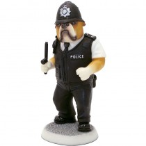 Bulldog 'Policeman On Duty' Figurine