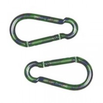 Camo Carabiner 6mm Double Pack