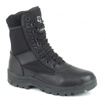 "Grafters G-Force - 8"" Half-Leather Police Boot"
