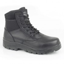 "Grafters Sherman - 6"" Half-Leather Police Boot"