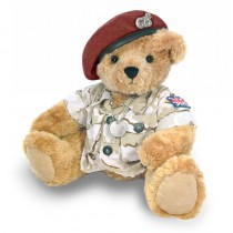 Great British Army Bear - Red Beret