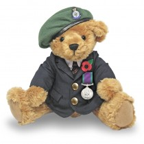 Great British Army Veteran Bear - Green Beret
