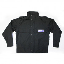 Police Waterproof Black Jacket - Unissued Surplus