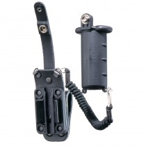 Leather CS Spray Holder - Duty Belt