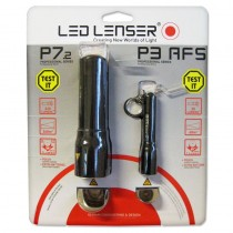 LED Lenser P7.2 Torch + P3 AFS Twin Pack