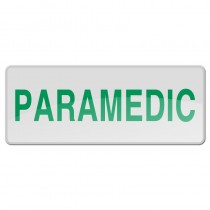 Reflective Sew-On Badge - PARAMEDIC