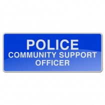 Reflective Sew-On Badge - PCSO