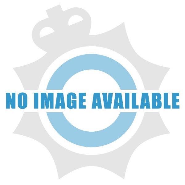 Reflective Sew-On Back Badge - Black - POLICE