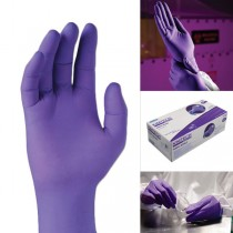 Purple Nitrile Gloves - Powder Free